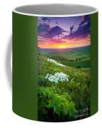 Palouse Flowers Coffee Mug by Inge Johnsson