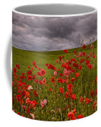 Palouse Poppies Coffee Mug