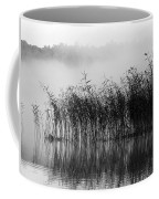 Pampas Grass In Fog Coffee Mug