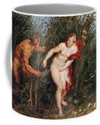 Pan And Syrinx Coffee Mug