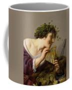 Pan Playing His Pipes Coffee Mug by Paulus Moreelse