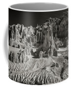 Panaca Sandstone Formations In Black And White Nevada Landscape Coffee Mug