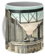 Panama Canal Locks Coffee Mug