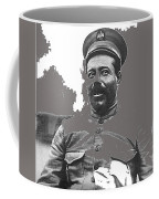 Pancho Villa  Portrait In Military Uniform No Location Or Date-2013 Coffee Mug