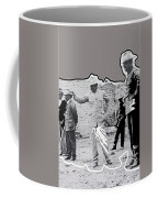 Pancho Villa  Shooting Pistol Mexico City 1914-2013 Coffee Mug