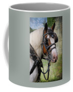 Pandora In Harness Coffee Mug by Fran J Scott