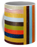 Panel Abstract L Coffee Mug
