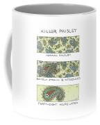 Panels Show The Progressive Development Coffee Mug