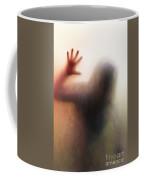 Panic Silhouette Coffee Mug by Carlos Caetano