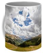 Panorama Atop Independence Pass Coffee Mug
