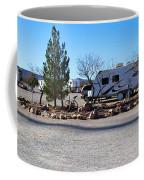 Panorama Cedar Cove Rv Park Street 2 Coffee Mug