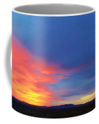 Panorama Fire In The Sky Sunset Coffee Mug