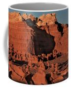 Panorama Hoodoos Goblin Valley Utah Coffee Mug