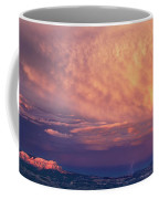 Panorama Lightning Paunsaugunt Plateau Near Bryce Canyon Np Coffee Mug