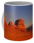 Panorama Moonrise Over Delicate Arch Arches National Park Utah Coffee Mug