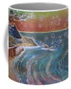 Panorama Of Pch At Big Sur Coffee Mug