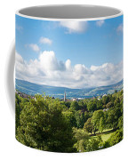 Panorama Of Phoenix Park And Wicklow Mountains Coffee Mug