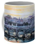 Panorama Of Rome Coffee Mug
