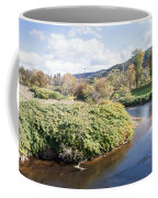 Panorama Of The Little River At Stowe Vermont Coffee Mug