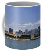 Panorama Over Lisbon Oceanarium Coffee Mug