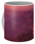 Panorama Pre-dawn At Point Imperial Grand Canyon National Park Coffee Mug
