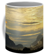 Panorama Sunset Aparaman And Towyen Tepuis Kavak Venezuela Coffee Mug