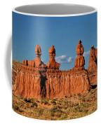 Panorama Three Sisters Hoodoo Goblin Valley Utah Coffee Mug