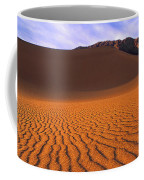 Panoramic Mesquite Sand Dune Patterns Death Valley National Park Coffee Mug