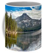 Panoramic Of Anthony Lake Coffee Mug