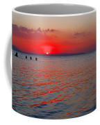 Panoramic Summer Sunset Coffee Mug