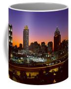 Panoramic View Of Atlanta Skyline Coffee Mug