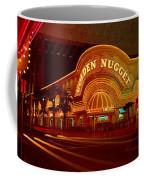 Panoramic View Of Golden Nugget Casino Coffee Mug