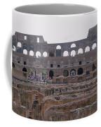 Panoramic View Of The Colosseum Coffee Mug