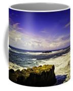 Panoramic View Of The Pacific Ocean Coffee Mug