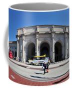 panoramic View of Union station in Washington DC Coffee Mug