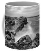 Ballycastle - Pans Rock To Rathlin Island Coffee Mug