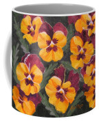Pansies Are For Thoughts Coffee Mug