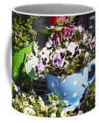 Cup Of Pansies Coffee Mug