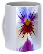 Pansy Abstract 1 Coffee Mug