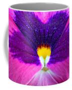 Pansy Abstract 3 Coffee Mug