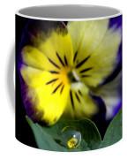 Pansy Close Up Coffee Mug