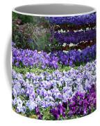 Pansy Field Coffee Mug