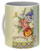 Pansy Garden-b Coffee Mug