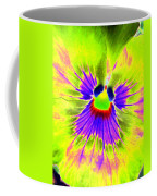 Pansy Power 59 Coffee Mug