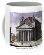 Pantheon Santa Maria Della Rotonda Coffee Mug