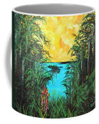 Panther Island In The Bayou Coffee Mug