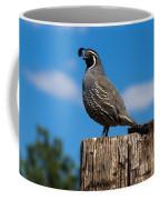 Papa Quail Coffee Mug