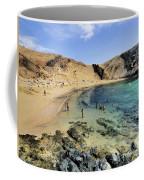 Papagayo Beach On Lanzarote Coffee Mug