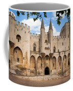 Papal Castle In Avignon Coffee Mug by Inge Johnsson