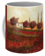 Papaveri In Toscana Coffee Mug